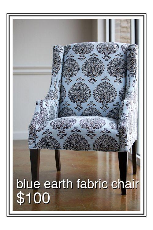 BlueEarthFabricChair